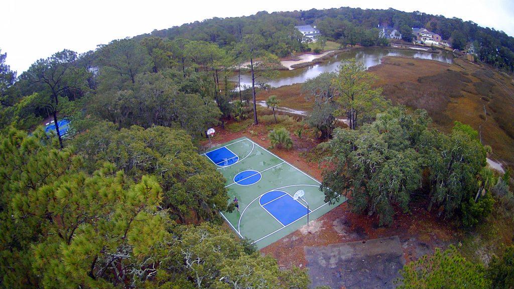 Dutch Island Basketball Courts